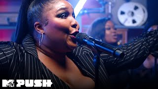 Lizzo Performs Good As Hell Live Performance MTV Push