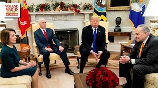 'This Has Spiraled Downward': Pelosi, Schumer Clash With Trump During Meeting In The Oval Office