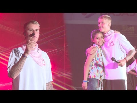 HIGHLIGHTS of JUSTIN BIEBER Concert in India | Purpose World Tour