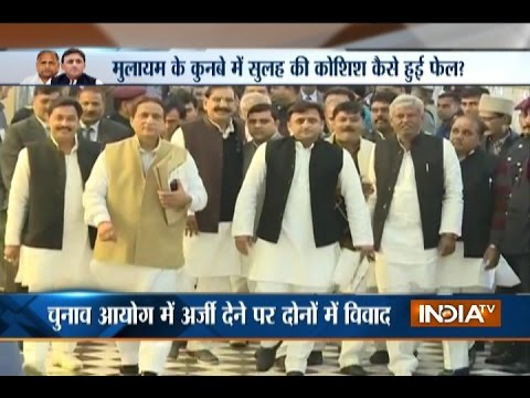 Here's What Went Wrong Between Mulayam And Akhilesh Yadav After Two Hour Meet