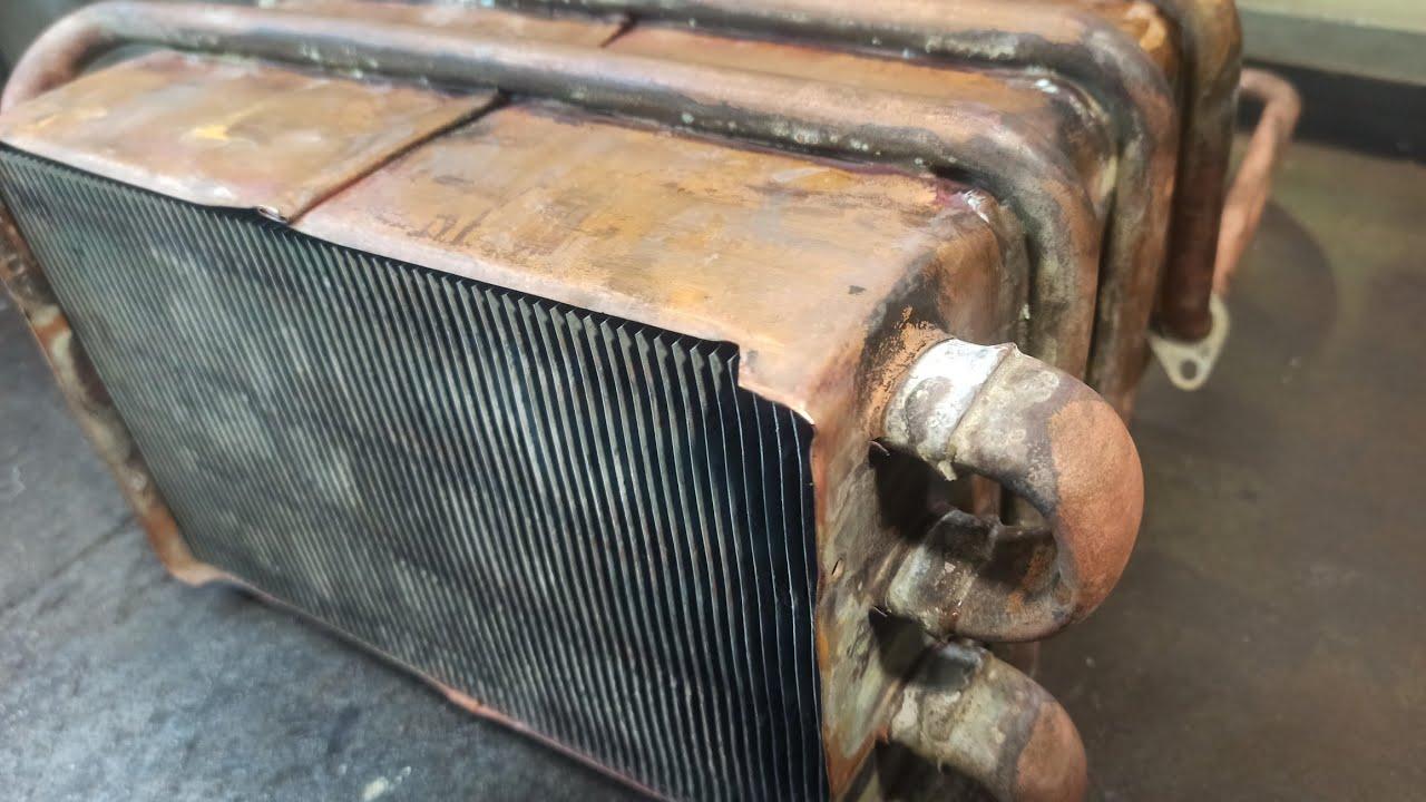 Принесли мертвый радиатор на ремонт, а там такое