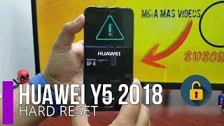 Como eliminar Contraseña,Patron o Pin de bloqueo Huawei Y5 2018