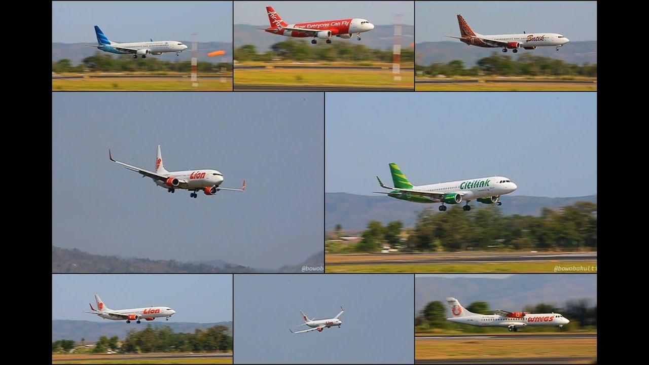 Crosswind Landing ] Final Approach Runway 27 Adisucipto ...