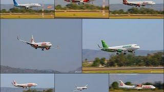 [ Crosswind Landing ] Final Approach Runway 27 Adisucipto International Airport (JOG/WAHH)