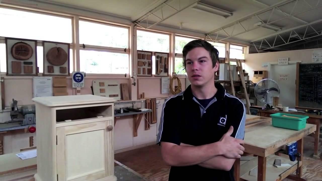 Nicholas - Apprentice Cabinetmaker - YouTube