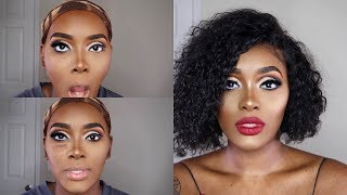 SEXY SULTRY MAKUP LOOK | HOW I FIX MAKEUP IF I MESS UP