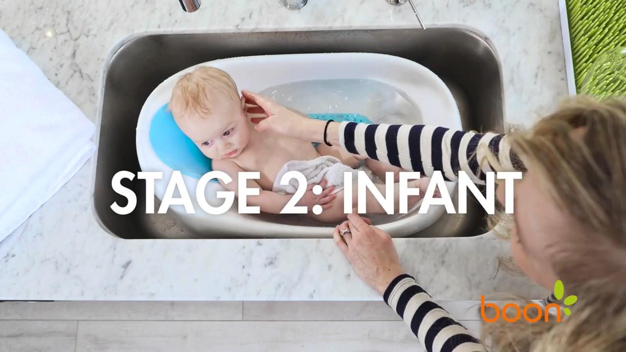 Boon Soak 3 Stage Bathtub Youtube