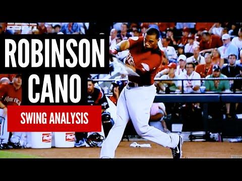 Robinson Cano Swing Analysis - Baseball Hitting Mechanics