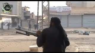 FSA Rebels Takings Hits From The Syrian Army