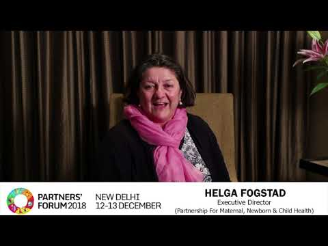 Helga Fogstad, PMNCH Executive Director
