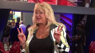 SEMA Hall of Famer Linda Vaughn discusses her years of experience in the industry