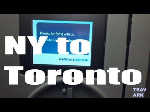 Flight Report: West Jet New York LaGuardia to Toronto