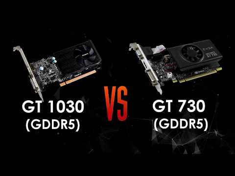 GT 1030 2GB ddr5 vs GT 730 2gb ddr5 in 5 Games