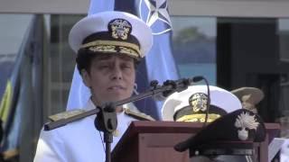 أمريكية إفريقية تترأس القيادة العسكرية للناتو في إيطاليا (فيديو)