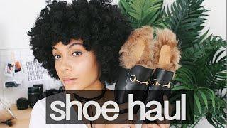 Shoe Haul (Gucci, Birkenstock, etc.) + FREE SHOES!
