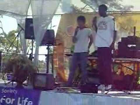 "Kenny & Jamaica  ""We're In heaven"" karaoke @ Relay for Life"