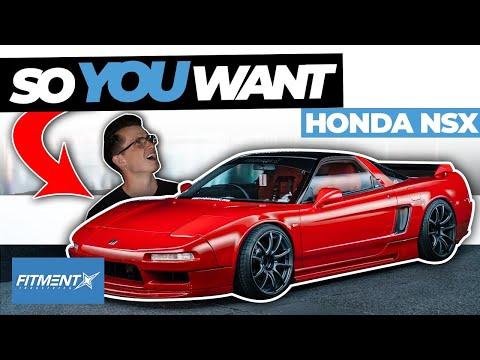 So You Want An Acura/Honda NSX