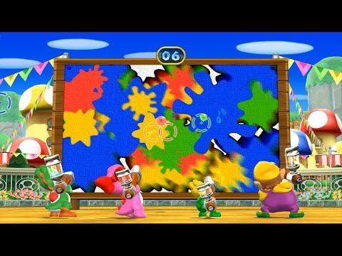 Mario Party 9 Step It Up - Wario vs Koopa vs Birdo vs yoshi Gameplay   MARIOGAMINGHUB