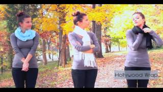10 способов завязывать шарф(Как красиво завязывать шарф ? 10 способов завязать шарф красиво. Видео., 2013-11-23T08:46:50.000Z)
