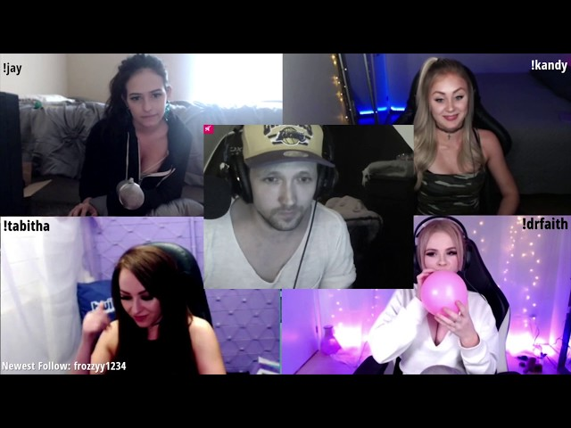 VICTOR AT RAJJPATEL TWITCH TINDER FT JAYCGEE, KANDYLAND, DR FAITH & TABITHALYONS