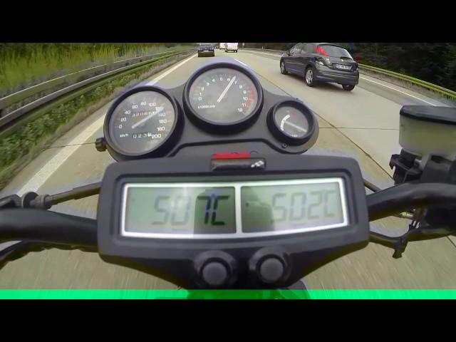 Probefahrten auf Autobahn