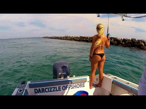 Big Jack in Palm Beach Florida Fishing Video
