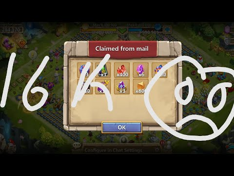 Tree Of Choice | 16000 Gems For All!!! | Castle Clash