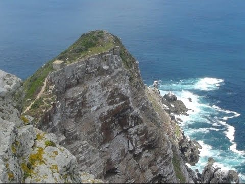 A view of Cape of Good Hope, South Africa. Cape Town