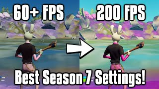Fortnite Season 7 Settings Guide! - FPS Boost, Colorblind Modes, \u0026 More!