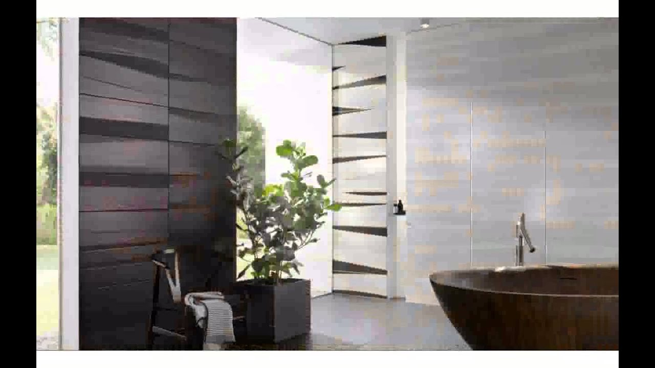 Badezimmer Fliesen Grau design - YouTube