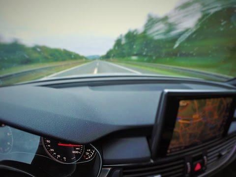 Let's Drive: Audi A7 3.0 TDI quattro @ Vmax // 262km/h // 40km German Autobahn