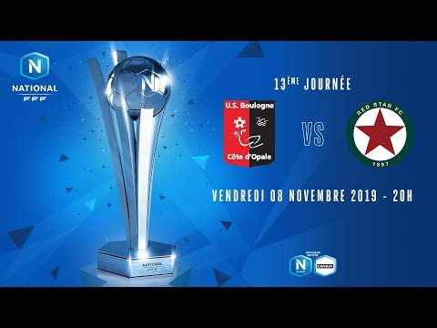 13e journée : Boulogne - Red star I National FFF 2019-2020