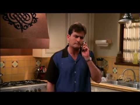 Two and a Half Men  The Pregnancy Test HD