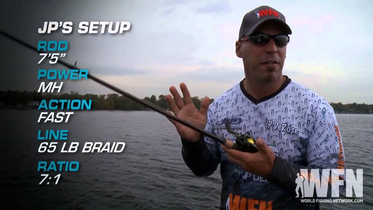 Deep water jigging for bass fishing tips youtube for Deep water bass fishing
