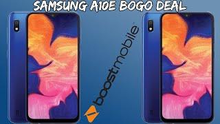 Samsung Galaxy A10e BOGO Deal Boost Mobile