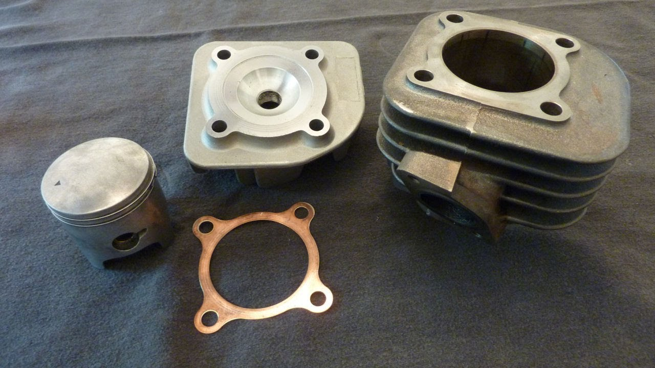 Project 49 - 68cc Big Bore Kit - Chinese Two-Stroke Scooter Performance  50cc 70cc