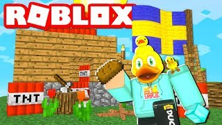BUILDING A MINECRAFT HOUSE IN ROBLOX?