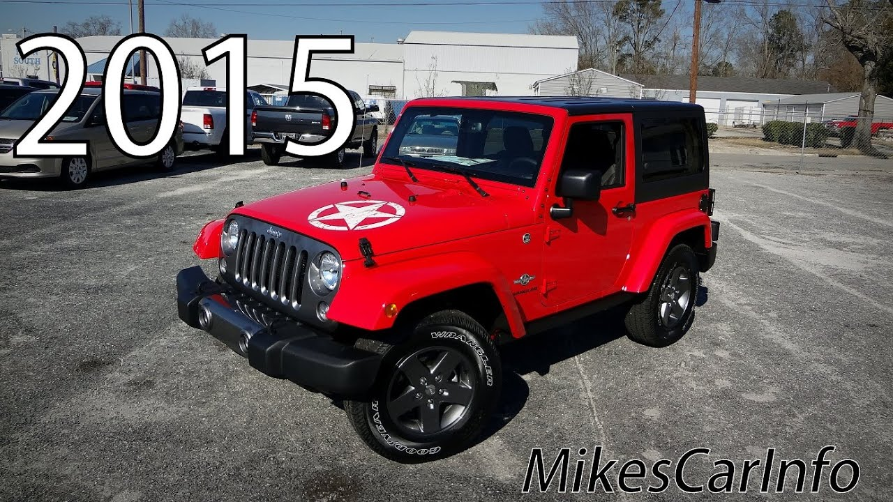 2015 JEEP WRANGLER FREEDOM EDITION 4X4 - YouTube