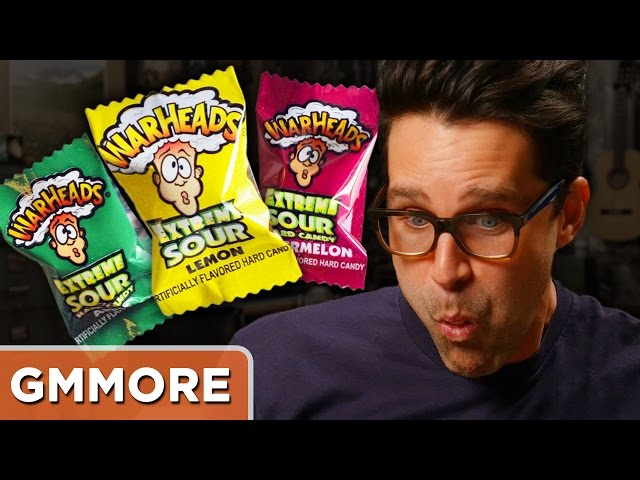 Eating 19 Warheads At Once (Challenge)
