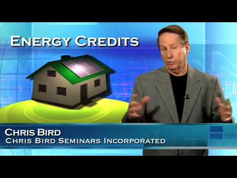 Facts You Need to Know about the Energy Tax Credits by Chris Bird
