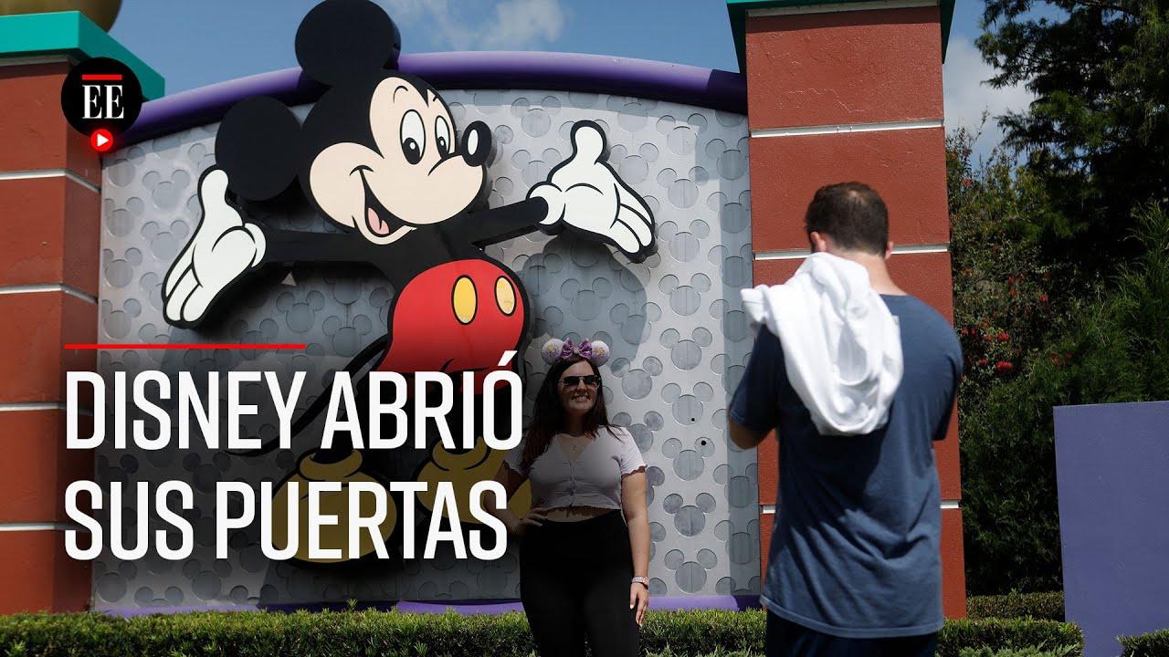 Disney World reabre sus puertas en pleno aumento de contagios por COVID-19