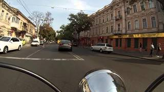 Путь от дома на работу в Оперный театр 23 09 2015