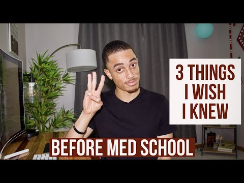 What I Wish I Knew Before Starting Medical School!