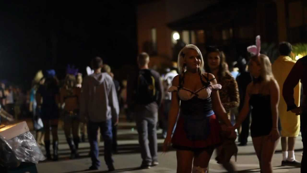 isla vista santa barbara halloween dp 2011 - youtube