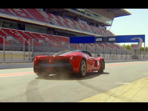 Sebastian Vettel estrena el Ferrari LaFerrari Aperta en Montmeló