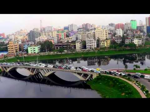 Natural Beauty of Bangladesh  Amazing Hatirjheel, Dhaka Ground View & View From The Above