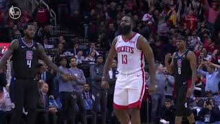 James Harden Hits Step-Back Dagger, Gets Crowd On Their Feet vs. Los Angeles Clippers