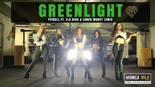 GREENLIGHT Pitbull Ft Flo Rida Lunch Money Lewis II FINDYOURFIERCE By MONICA GOLD