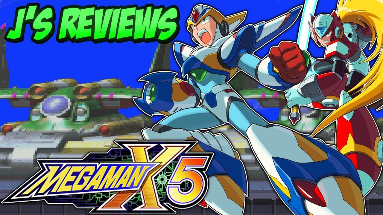 Mega Man X5 - The Beginning Of The End For Mega Man X  J'S Reviews