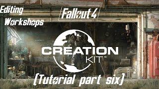Fallout 4 Creation Kit Tutorial (part 6) (editing settlements)